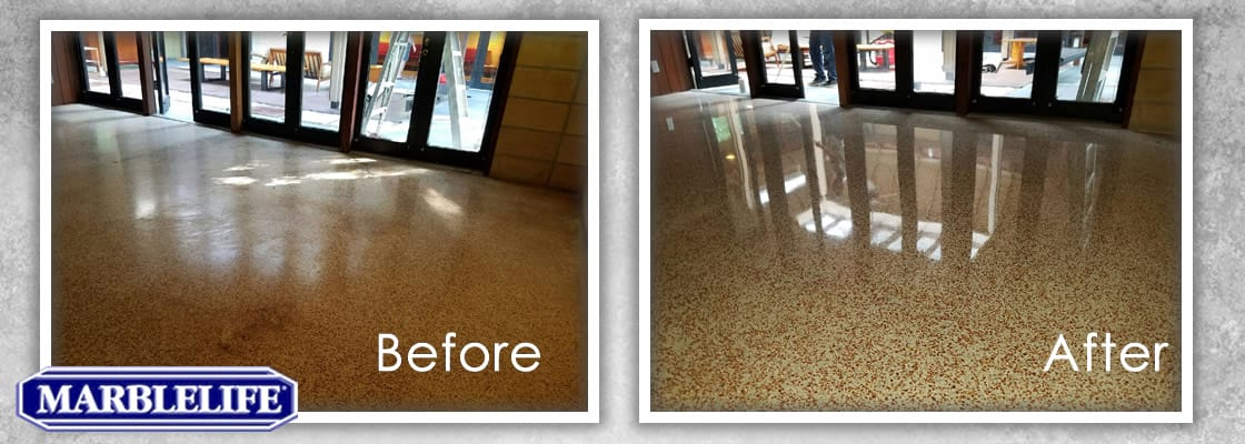 Terrazzo Before & After - 0
